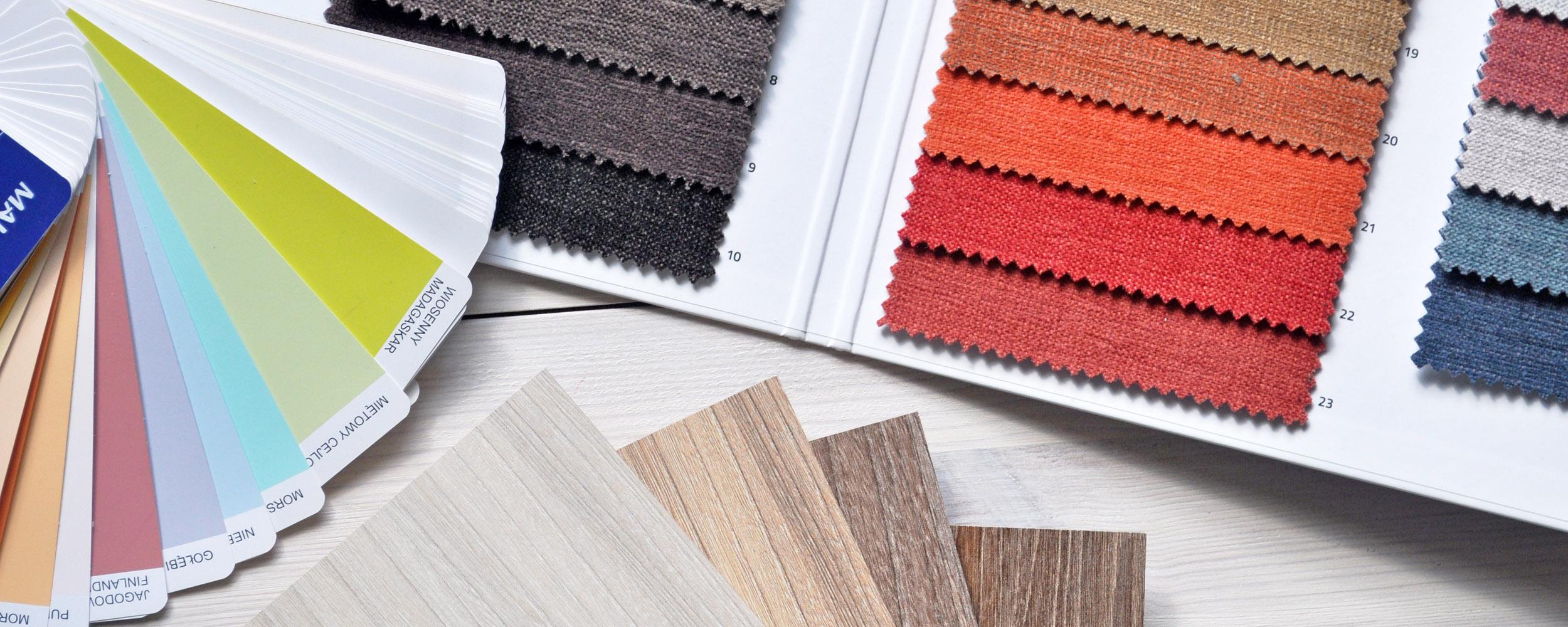 Colores y materiales de tendencia